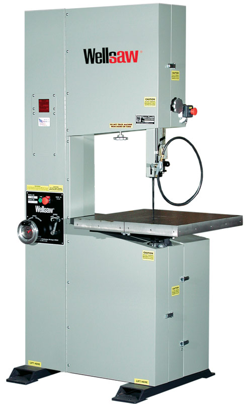 Model V 20 Wellsaw Metal Cutting Bandsaws Made In The